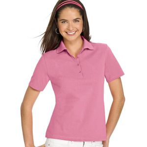 POLO Comfortsoft coton piqué de polo pour femmes MXF8D