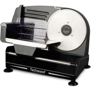 TRANCHEUSE TECHWOOD TTR-896 Trancheuse électrique - Noir