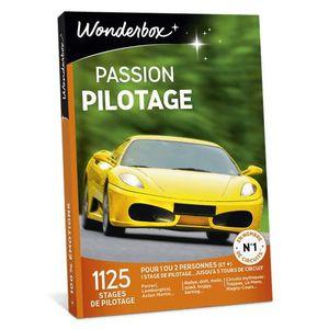 COFFRET SPORT - LOISIRS Wonderbox - Idée cadeau - Passion pilotage - 1125