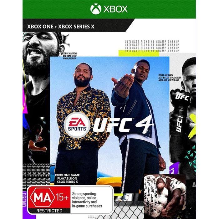 EA SPORT UFC 4 XBOX ONE