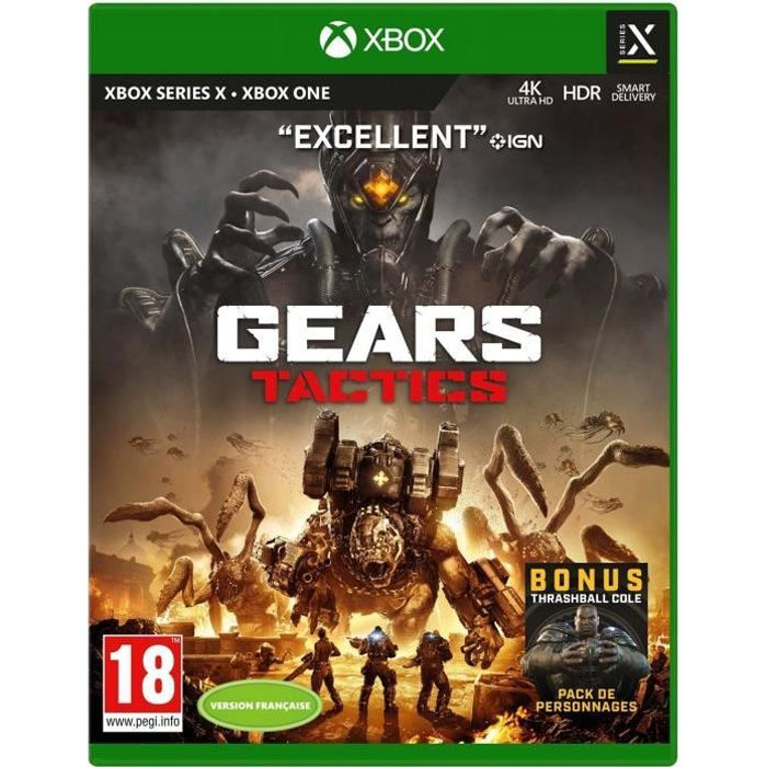 Gears Tactics Jeu Xbox Series X - Xbox One