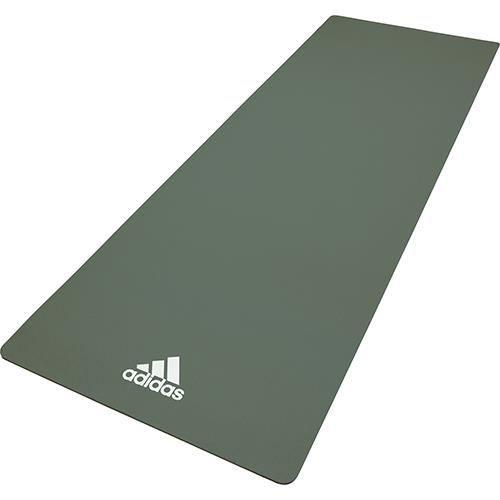 Adidas tapis de yoga 8mm vert brut
