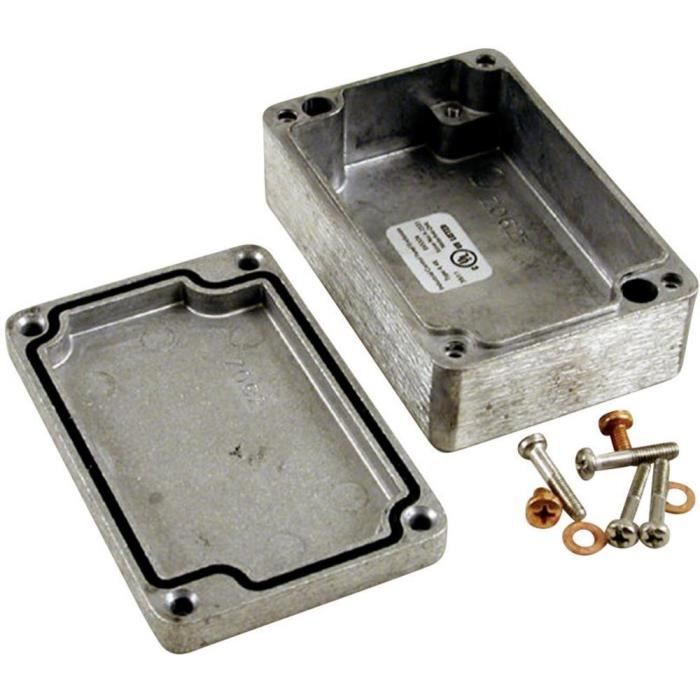 Boîtier universel Hammond Electronics 1590Z063 Aluminium...