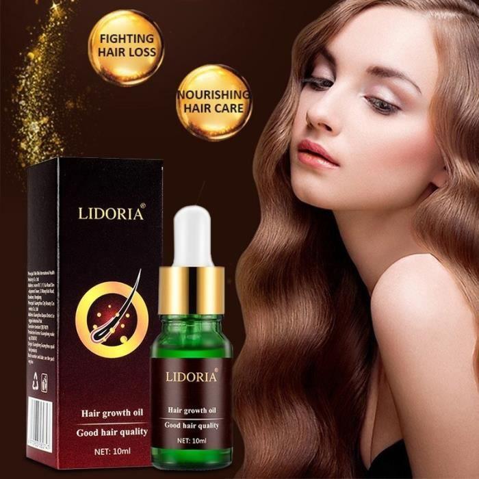 Hair Growth Essence Liquid Anti-Hair Loss Treatment Hair Care Essential Oil Nourishing Moisturize Serum Repair Hairs Root 10ml
