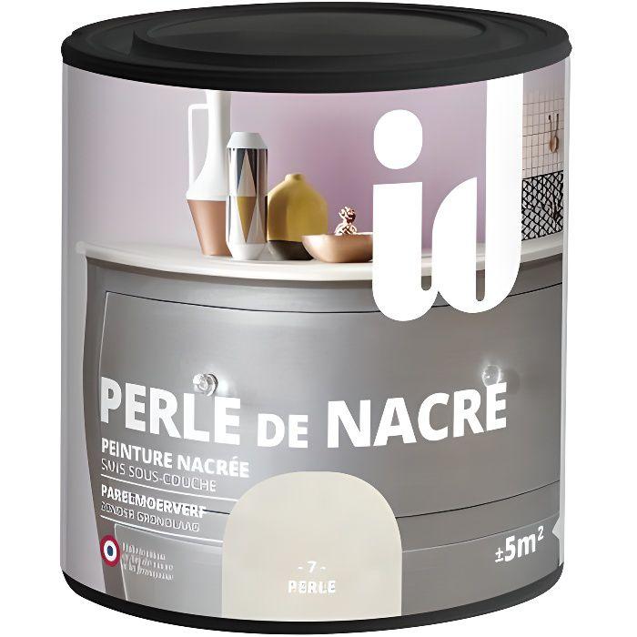Peinture meubles et boiseries PERLE DE NACRE 500ML 0,5 Perle