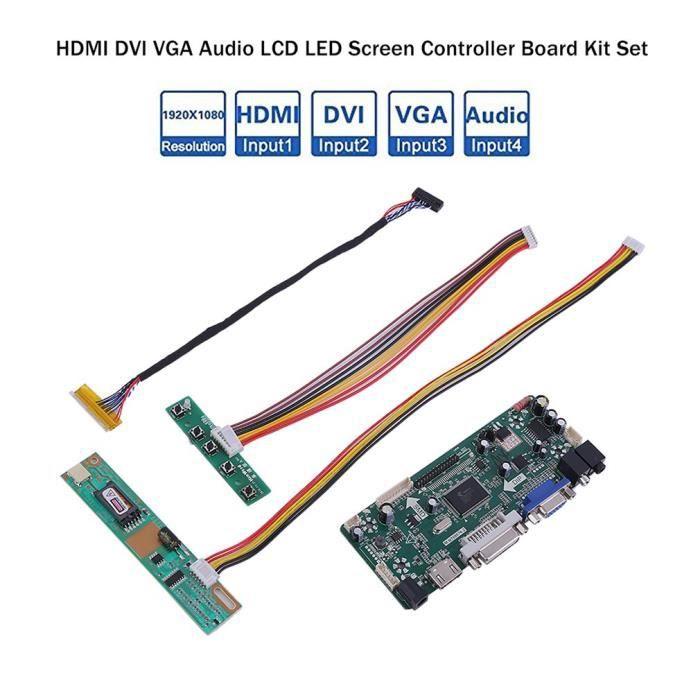 """ M. Nt68676.2A (Hdmi + Dvi + Vga + Audio) Lcd écran Led carte contrôleur Bricolage kits """