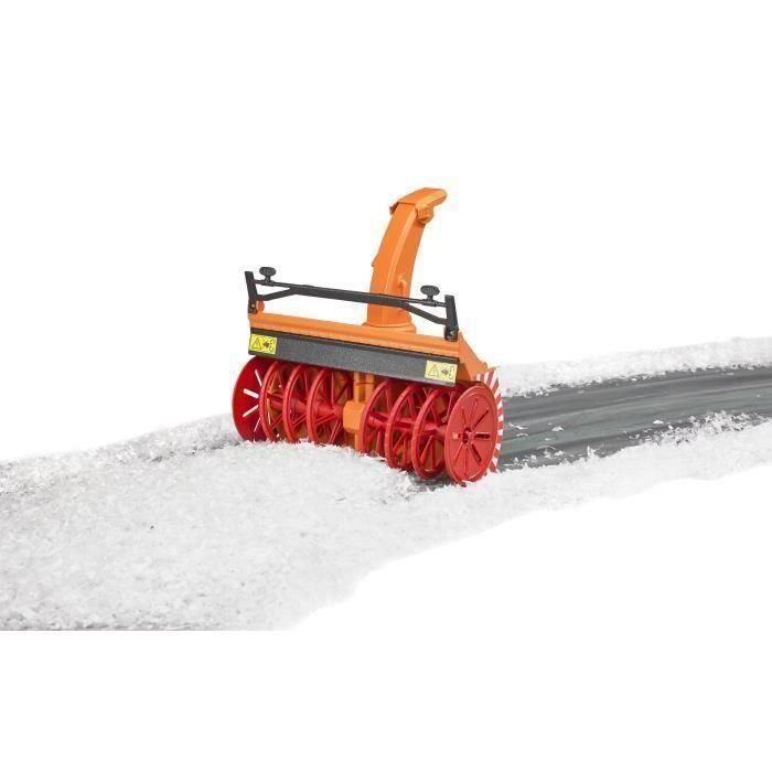 BRUDER - Souffleuse à neige - 21 cm