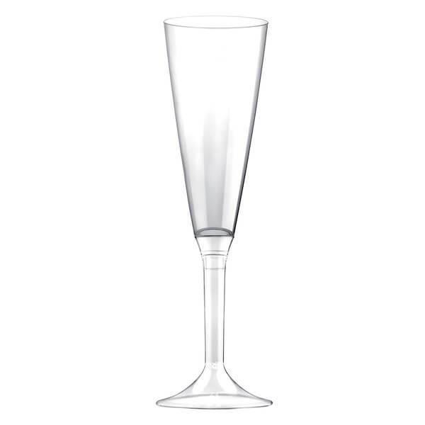 Flûte transparente 160ml (x10) REF/57585