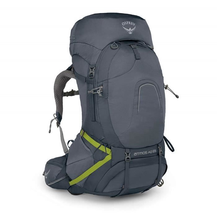 Osprey Atmos AG 65 Men's Backpacking Pack - Abyss Grey (MD) - 10001420