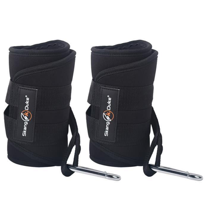1 paire de ceinture barre de traction durable pratique suspendue d'entraînement musculaire APPAREIL ABDO - PLANCHE ABDO
