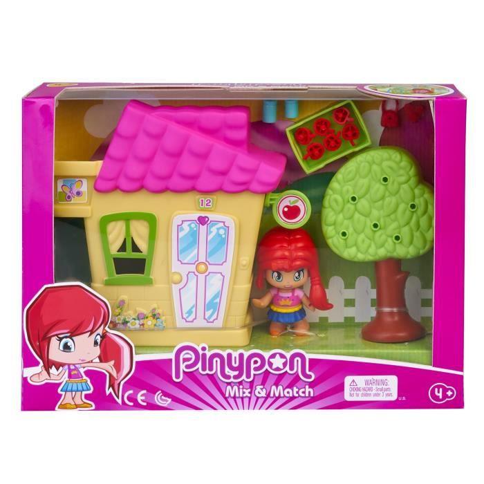 Pinypon - La maison Pinypon et une figurine - accessoires inclus