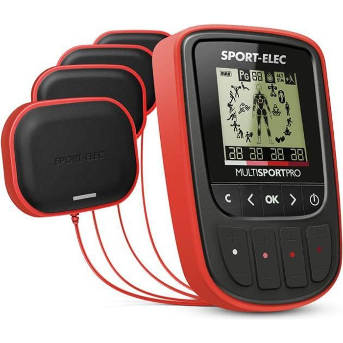 SPORT ELEC Appareil d'Electrostimulation Multisport Pro NOUVEAU
