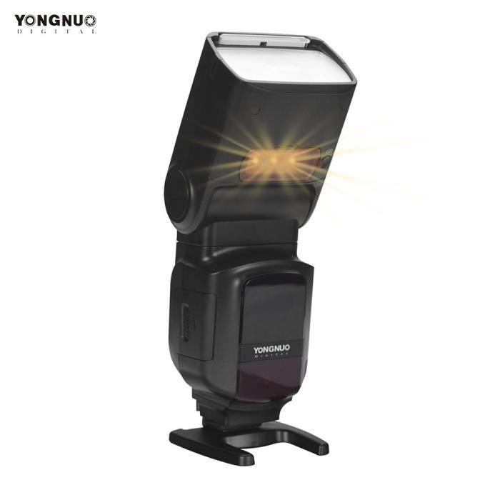 YONGNUO YN968N II Lumière sans fil TTL Flash Speedlite 1 / 8000s HSS 5600K pour appareils photo reflex numériques Nikon compatible
