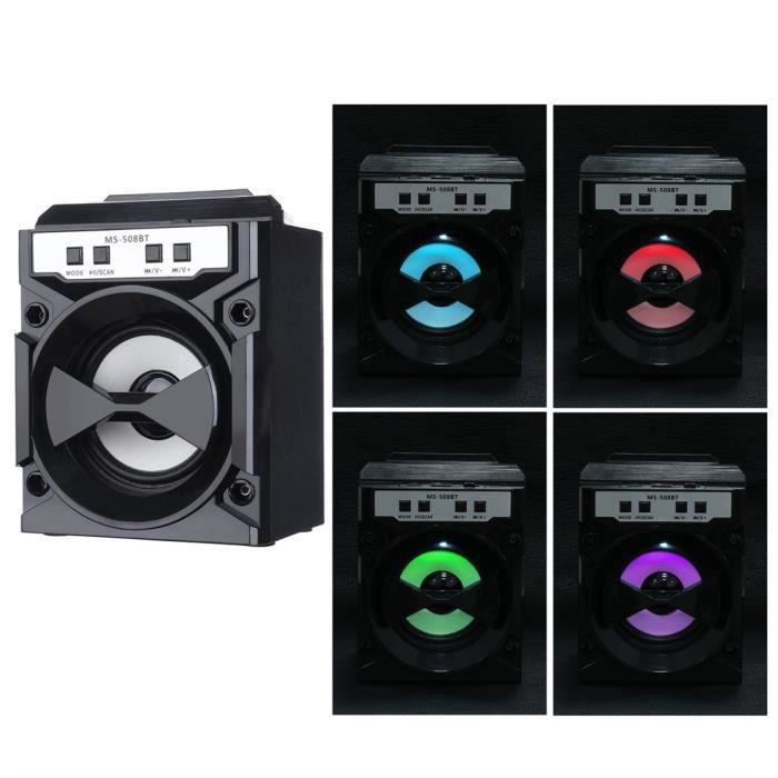 Portable Bluetooth Speakers Wireless Outdoor Super Bass FM Radio//TF//USB//AUX