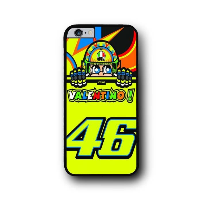 coque iphone 6 6s plus valentino rossi vr46 achat coque bumper pas cher avis et meilleur. Black Bedroom Furniture Sets. Home Design Ideas