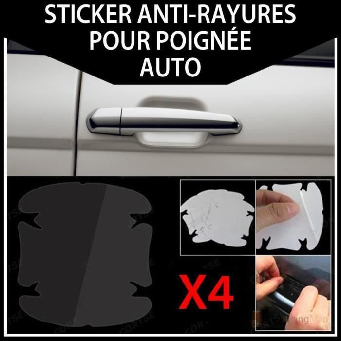 x4 sticker protection anti rayure poignee voiture achat vente mat riel lustrage x4 sticker. Black Bedroom Furniture Sets. Home Design Ideas