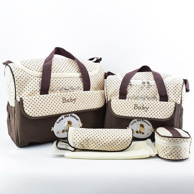 Sac à Langer Sacs Sac à bandoulière Messenger Bébé Maman Bag avec 12 innenaschen