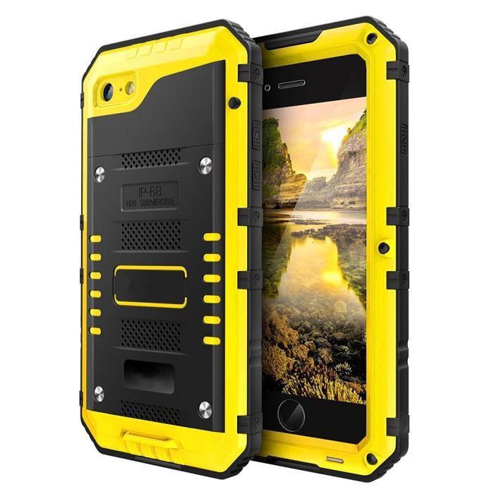 coque iphone 7 8 antichoc etanche robuste qualite