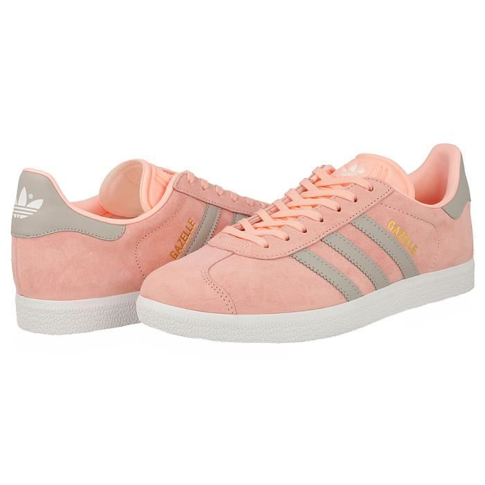 BASKET ADIDAS GAZELLE ROSE GRIS