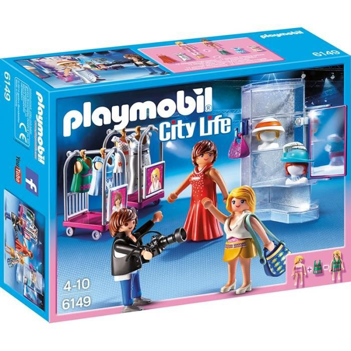 Playmobil 6149 top mod les avec photographe achat for Salle a manger playmobil city life