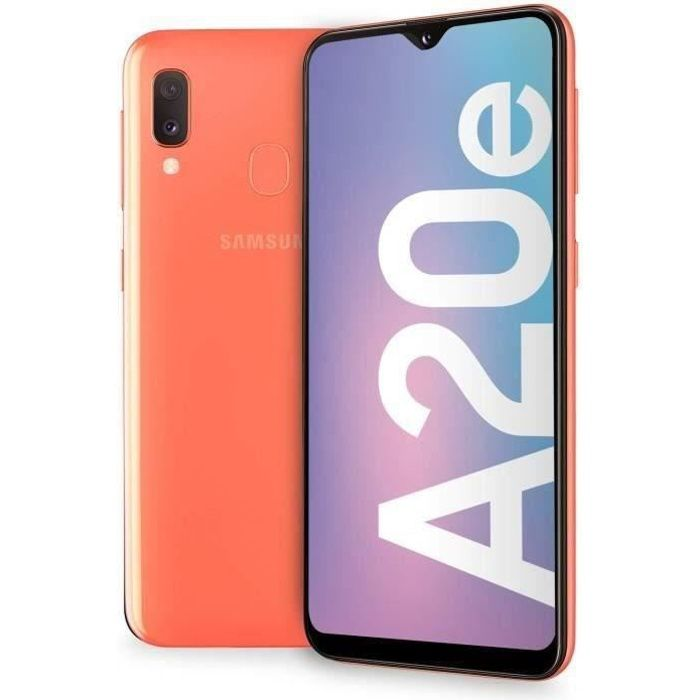 SMARTPHONE Samsung Galaxy A20e - Double Sim - 32Go, 3Go RAM -