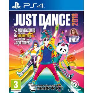 JEU PS4 Just Dance 2018 Jeu PS4