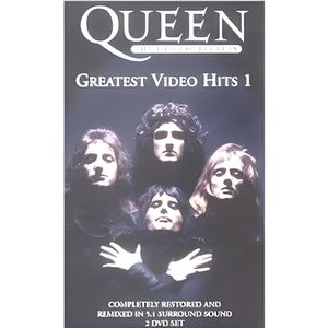 DVD MUSICAL QUEEN : Greatest Video Hits 1, 2 DVD