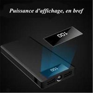 BATTERIE EXTERNE MINGJI®50000mAh Batterie externe Afficheur LCD à c