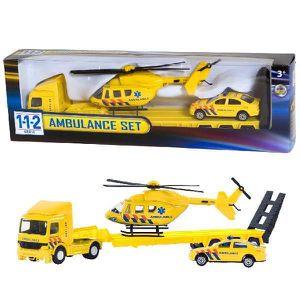 VOITURE - CAMION Van der Meulen 112 Ambulance Set 3 Pcs., Métal, Ja