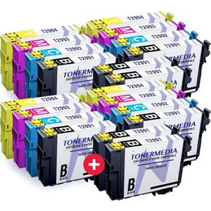 PACK CARTOUCHES TONERMEDIA - x20 cartouches Epson 29XL compatibles