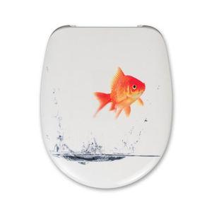 ABATTANT WC CEDO Abattant Malibu Beach Goldfish 46x38,3x4,9cm
