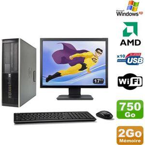 ORDI BUREAU RECONDITIONNÉ Lot PC HP Compaq 6005 Pro SFF AMD 3GHz 2Go 750Go G