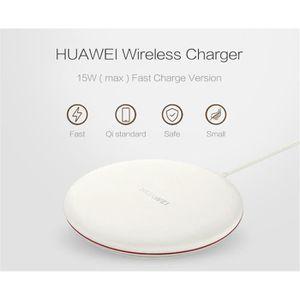 CHARGEUR TÉLÉPHONE Qi Chargeur sans fil Huawei - 15W Chargeur à Induc