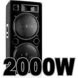 PACK SONO ENCEINTE SONO DJ 2000W A FOU !