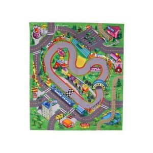 majorette tapis de jeu circuit de course 70x80 cm voiture panneaux inclus achat vente. Black Bedroom Furniture Sets. Home Design Ideas