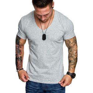 Homme Farah T shirt gris grande taille 42 tour de poitrine