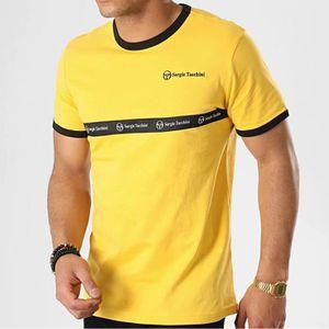 Sergio Tacchini Hommes Dallas Track Top Fermeture Éclair Sweat-shirt moutarde 37570 451