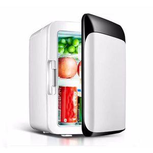 MINI-BAR – MINI FRIGO 10 L Réfrigérateur De Voiture 220 V/12 v Mini Réfr
