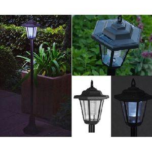 LANTERNE LAMPE SOLAIRE 90 CM POUR JARDIN TERRASSE ALLEE ...