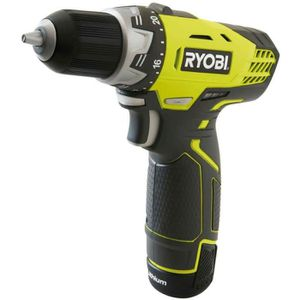 PERCEUSE RYOBI Perceuse 12 volts 1 x 1,3 Ah lithium