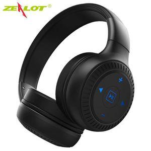 CASQUE - ÉCOUTEURS ZEALOT Casque Bluetooth 4.1 Oreillette Sans Fil Éc
