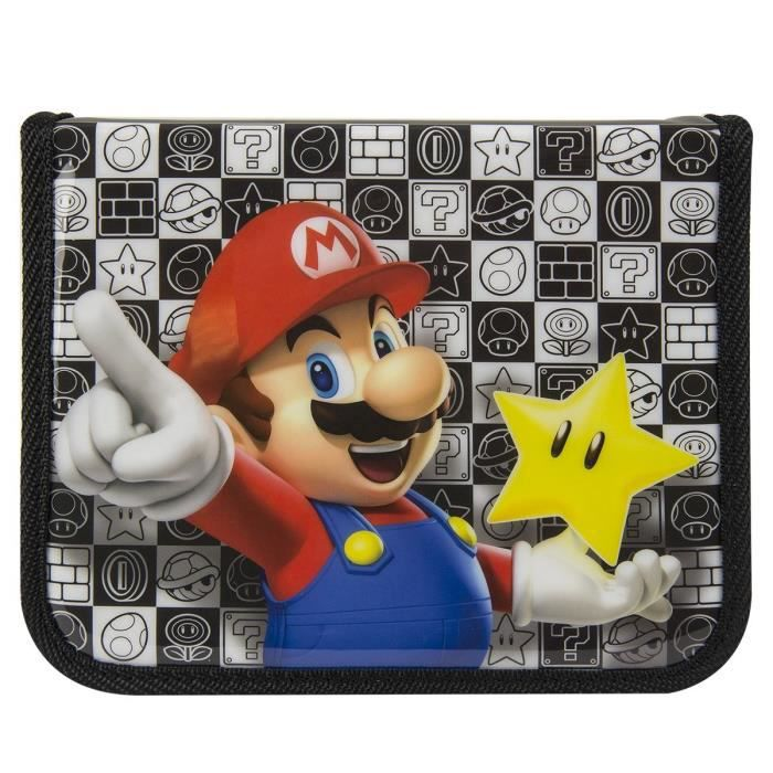 Housse pdp mario 3ds 3ds xl new 3ds new 3ds xl achat for Housse 2ds xl pokemon