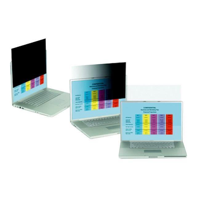 Filtre de confidentialité 3M pour ordinateur portable à écran panoramique 17,3