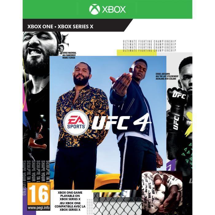 UFC 4 Jeu Xbox One