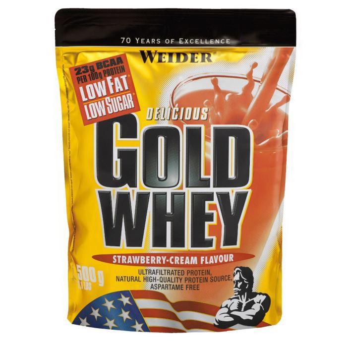 WEIDER GOLD WHEY Fraise 500 g NTT