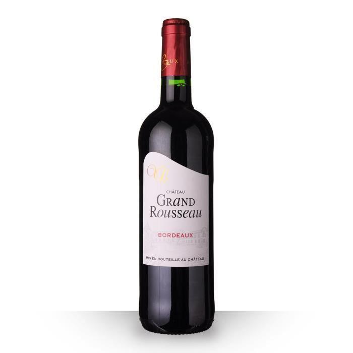 Château Grand Rousseau 2016 AOC Bordeaux - 75cl - Vin Rouge