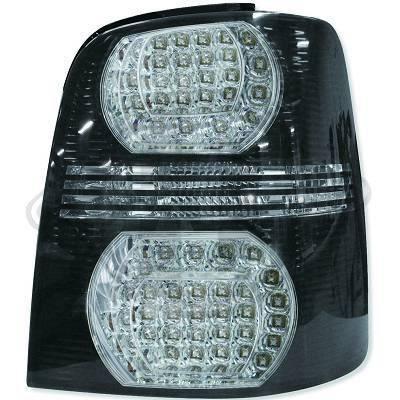 2295998 , Paire de feux arrière noir pour VW Touran de type de 2003 a 2010