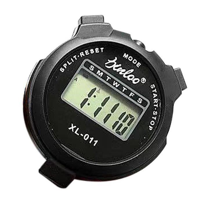 Chronomètre de Sport numérique LCD multifonction, minuterie électronique, alarme, accessoires de Fitness [C7E9FFE]