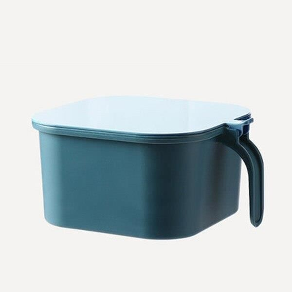 boîte de rangement des épices de cuisine à 4 grilles, avec cuillère, ensemble sel et poivre, récipient à épices, [801B1F3]