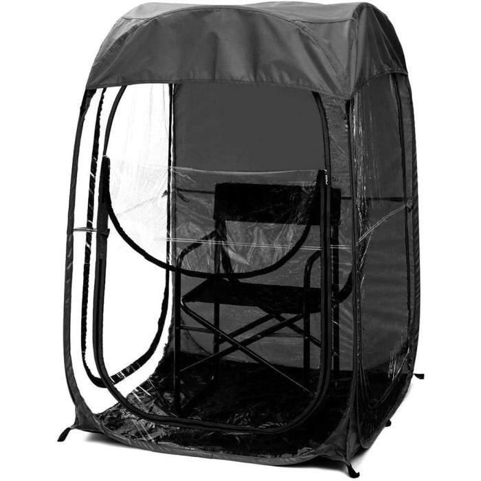Tente de pêche à la carpe avec abri de jour pour salle de bain, abrissement rapide pour 1 personne, bivouac, sport de plein air A267